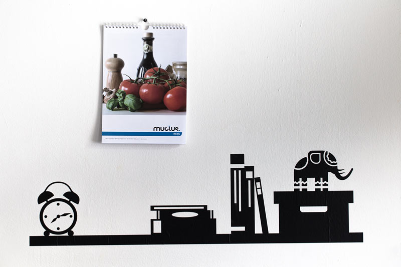 Fali naptár, 12+1 lapos konyhai (A4)