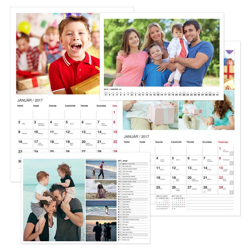 Fali naptárak